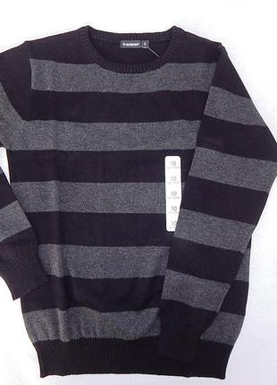 Трикотажные  школьные свитера для мальчиков 12 лет