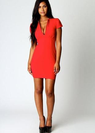Стильное короткое платье 48 размер