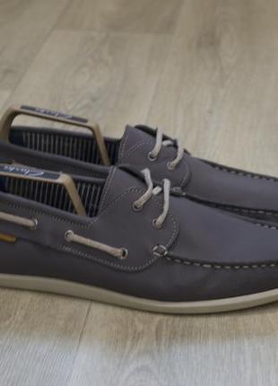 Мужские туфли топсайдеры кожа оригинал