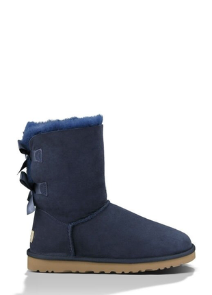 Женские угги ugg bailey bow ii boot navy р.36-40