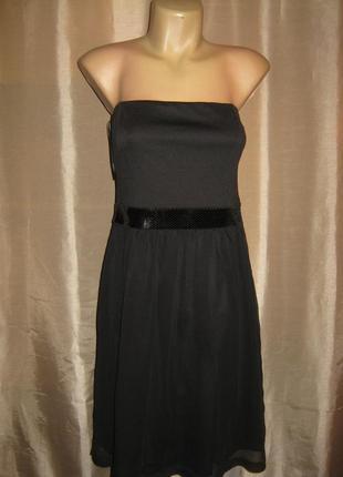 Вечернее платье tom tailor с поясом из пайеток германии.