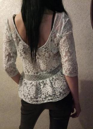 Блузка с баской hollister