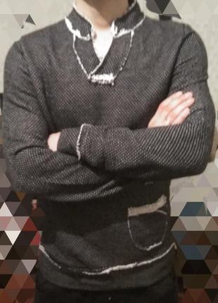 Стильный мужской реглан,свитер ..турция! м,л.