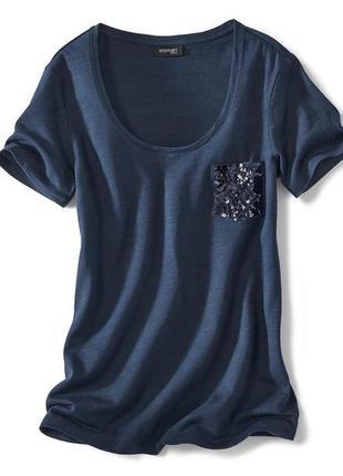 Очаровательная и женственная футболка tchibo, германия