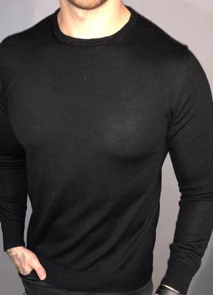 Шерстяной свитер от zara