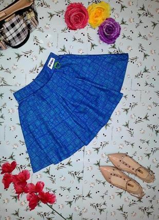 Акция 1+1=3 стильная фирменная короткая юбка, размер 42 - 44