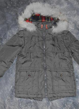 Куртка зимняя,парка на синтипоне