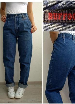 Джинсы момы бойфренды mom jeans с высокой посадкой мам бананы