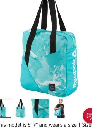 Спортивная сумка reebok оригинал,очень вместительная,с последних коллекций.