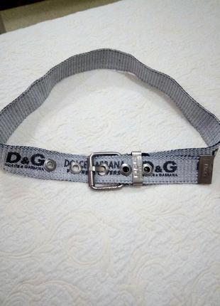 D&g стильный ремень текстиль