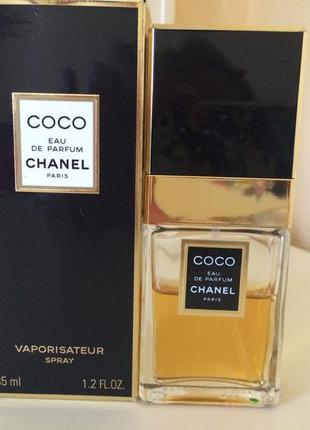 Chanel coco, пв 35 мл, стародел