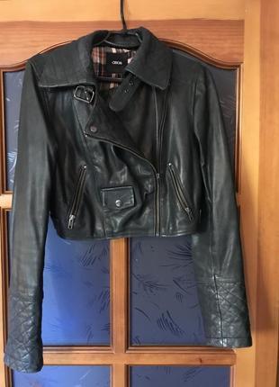 Куртка кожаная asos
