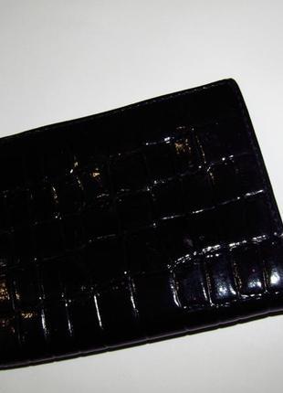Тоненькое классическое портмоне (кошелек)