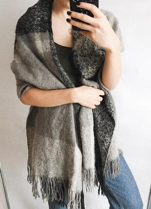 Очень тёплый большой шарф из новых коллекций h&m