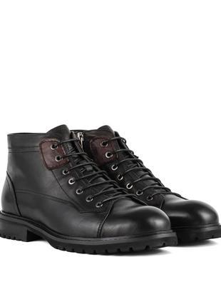 3235 мужские ботинки sasha fabiani,кожаные,на толстой подошве,на низком ходу,на каблуке