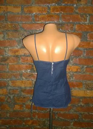 Блуза топ кофточка майка в бельевом стиле topshop2 фото