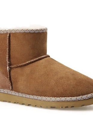 Женские угги ugg classic mini ii boot liberty