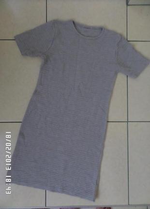 S трикотажне плаття.50% шерсть