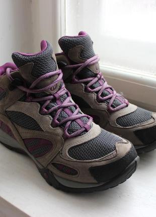 Жіночі трекінгові черевики (женские треккинговые ботинки) merrell azura mid 252f37520f4b0