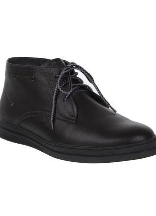 3123 мужские ботинки konors,кожаные,на толстой подошве,на низком ходу,на шнурках