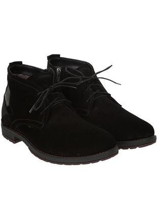 3069 мужские ботинки zlett,замшевые,на толстой подошве,на низком ходу,на шнурках