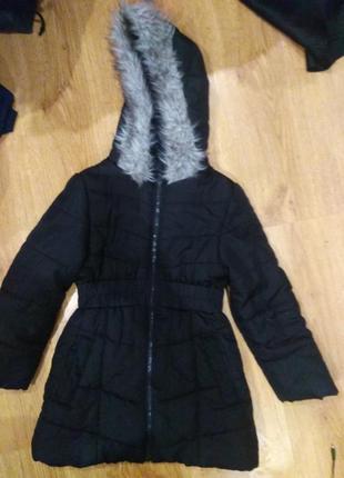 Шикарная удлиненная  куртка 128 размер германия