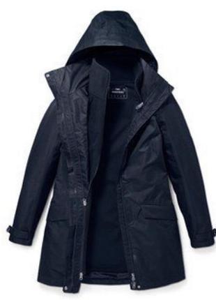 Всепогодная удлинённая куртка трансформер 3 в1