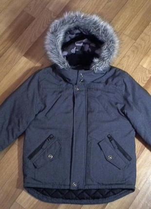 Куртка парка george 6-7лет 116-122см