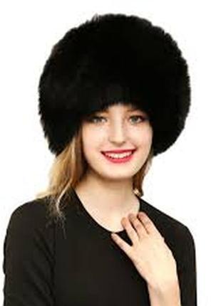 Новая меховая шапка fliex