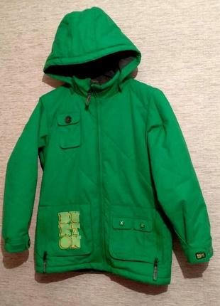 Стильная лыжная /сноубордическая куртка на девочку фирмы burton