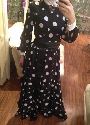 Платье в пол phardi