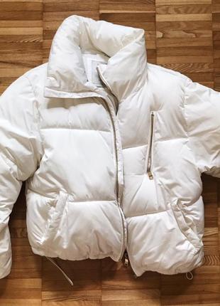 Куртка пуховик зима bershka