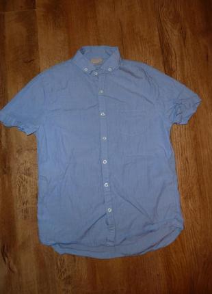 Next рубашка некст на 11 лет рост 146 см в идеале 100% котон