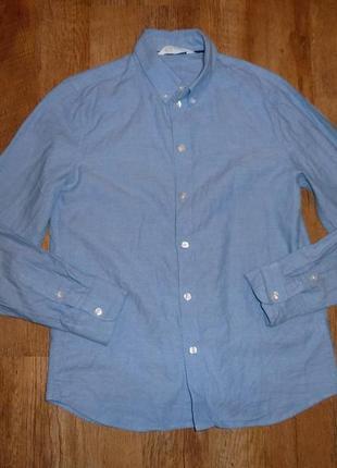 Рубашка h&m на 12-13 лет в идеале 100% коттон, сделана в бангладеш