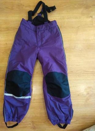 Лыжные термо штаны 128 размер