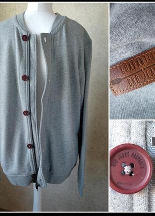 Новая bonobo jeans тёплая олимпийка спортивная кофта мастерка франция