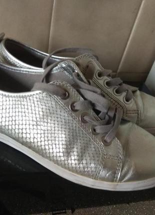 Шикарные кожаные туфли 26.5см германия