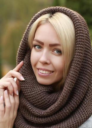 Модный шарф-хомут