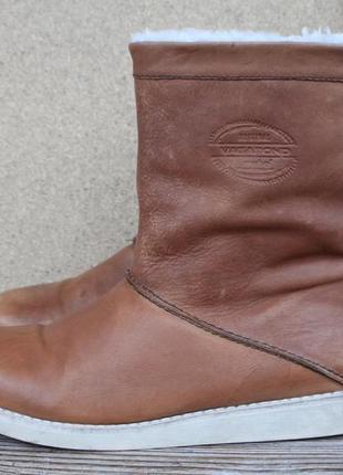Ботинки vagabond кожа швеция 40 р сапоги угги зимние
