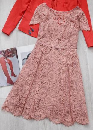 Шикарное кружевное платье m&s 🌸💕
