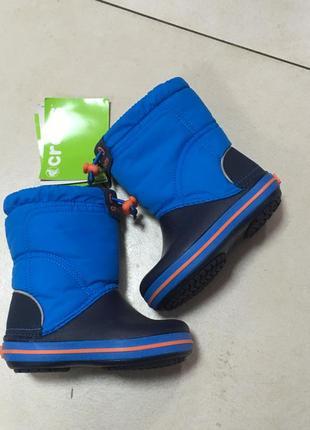 Зимние сапоги crocs crocband lodgepoint boot kids р-23