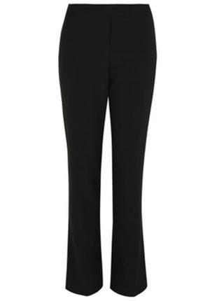 Черные стрейчевые брюки george