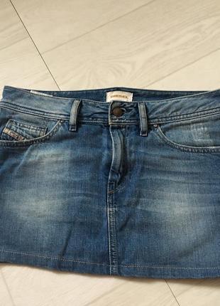 Классическая джинсовая юбка diesel