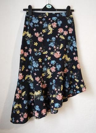 Летняя ассиметричная юбка