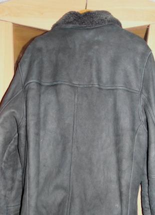Качественная натуральная дубленка, пр-во турция.размер.48-50.2 фото