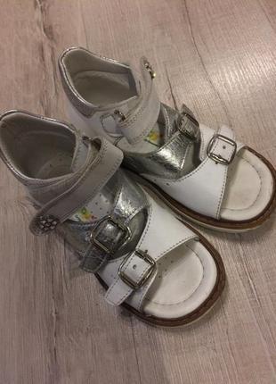 Детские босоножки сандалии woopy orthopedic.