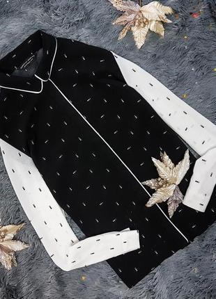 Чорно-біла сорочка від dorothy perkins