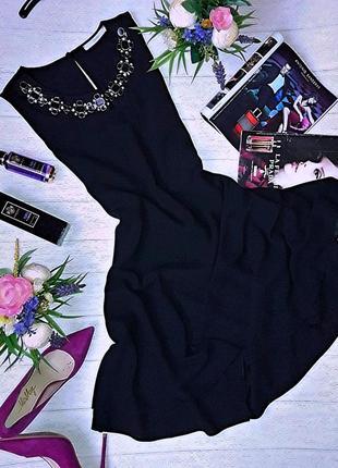 Шикарнейшее черное платье от george.