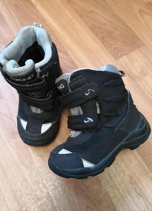 Viking gor-tex зимние ботинки