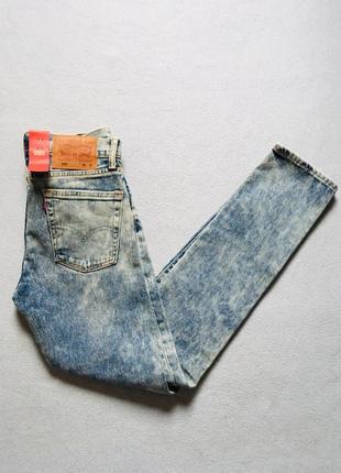 Новые джинсы levis skinny